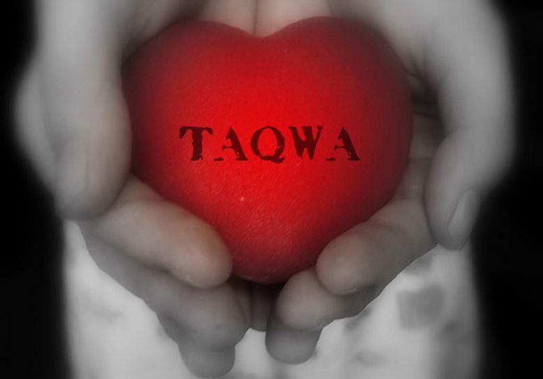 Taqwa is in the heart