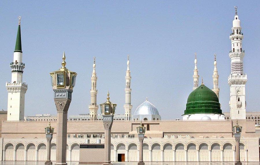 Prophet's mosque madinah