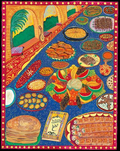9th century food baghdad