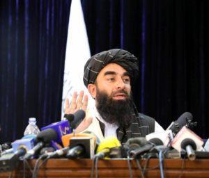 Taliban-spokesperson-Zabihullah-Mujahid-holds-press-conference